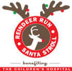 Reindeer run logo
