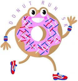 6th Annual Glazin' A Trail Donut Run 5K and Fun Run [Virtual]