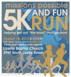 Missions Possible 5K, 10K, and Fun Run