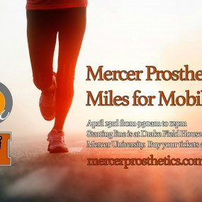 Mercer Prosthetics Miles for Mobility 5K and 3K