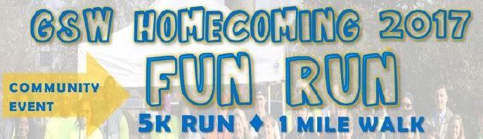 GSW Homecoming 2017 Fun Run 5K and 1 Mile Walk