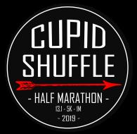 The Cupid Shuffle Half Marathon, 5K, and Tot Trot
