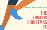 [RESCHEDULED] Kiwanis Christmas 5K, Macon