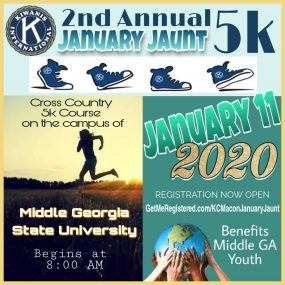 2nd Annual Kiwanis January Jaunt 5K