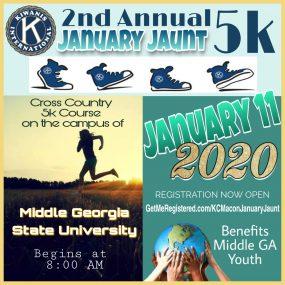 2nd Annual Kiwanis January Jaunt 5K
