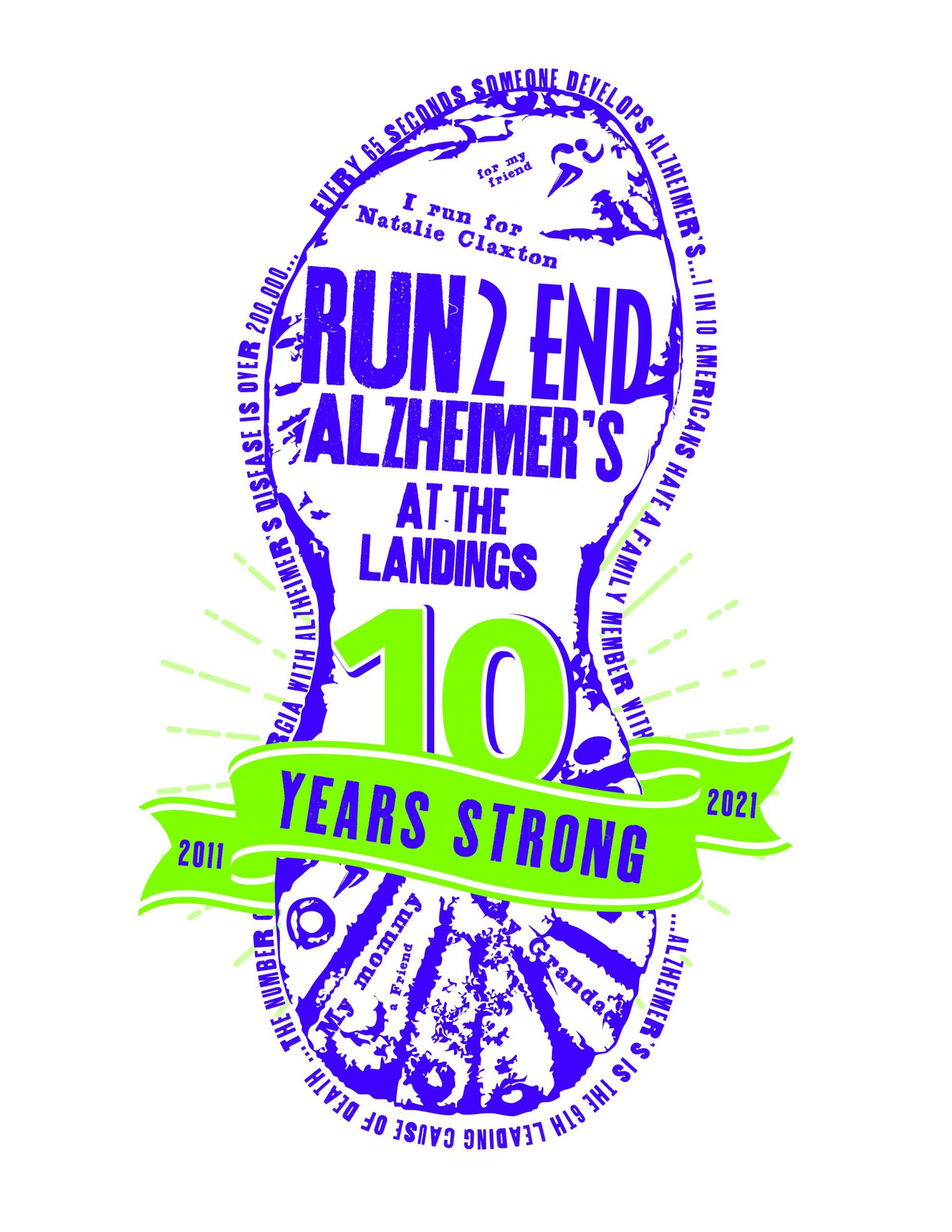 Run 2 End Alzheimer's 5K & 10.5K [Live or Virtual]